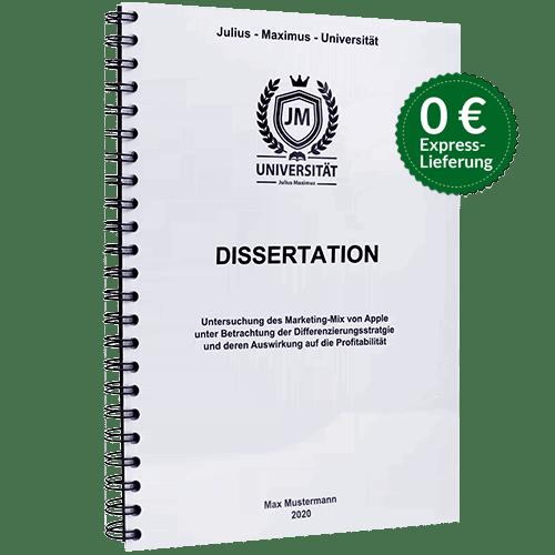 Dissertation binden Spiralbindung