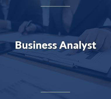 Qualitätsmanager-Business-Analyst