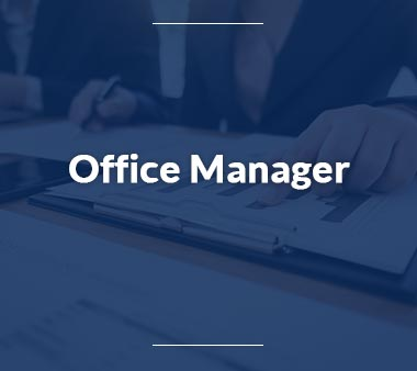 Qualitätsmanager Office Manager
