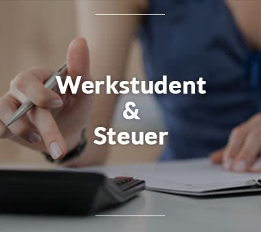 Werkstudentenjob Werkstudent Steuern