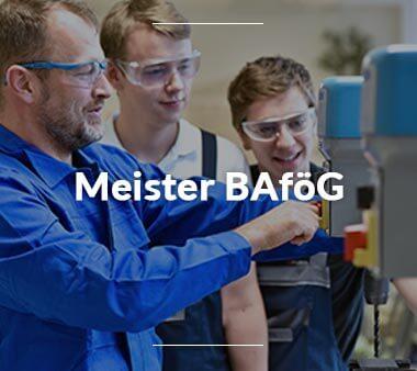 BAföG Antrag Meister BAföG