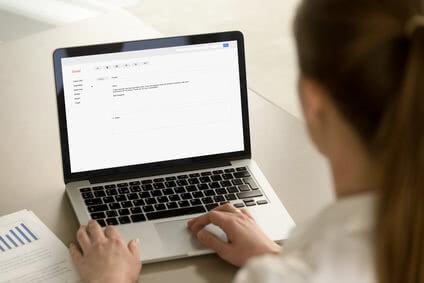 Bewerbung per E-Mail