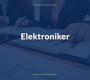 Bioinformatiker Elektroniker