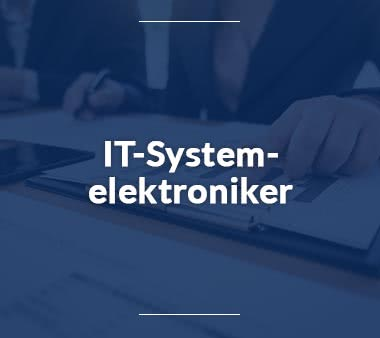Bioinformatiker IT-Systemelektroniker