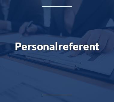 Einkäufer Personalreferent