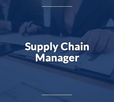 Pilot Supply Chain Manager