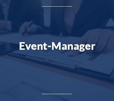 Pressesprecher Event-Manager