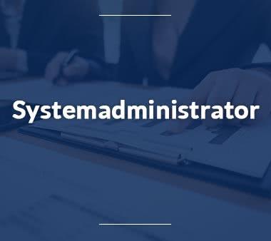Systemarchitekt Systemadministrator
