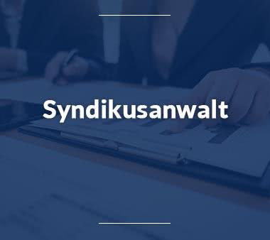 Volljurist Syndikusanwalt