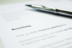 Bewerbungsunterlagen Anschreiben verfassen