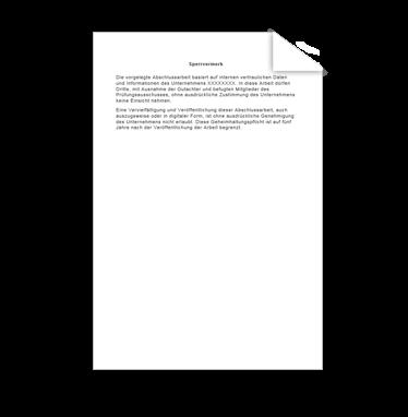 Wissenschaftliche Vorlage Sperrvermerk Version 2