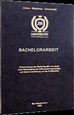 Bachelorarbeit binden im Premium Hardcover
