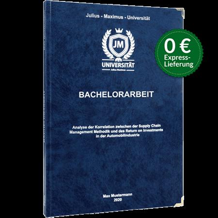 Bachelorarbeit-drucken-binden-Premium-Hardcover-blau
