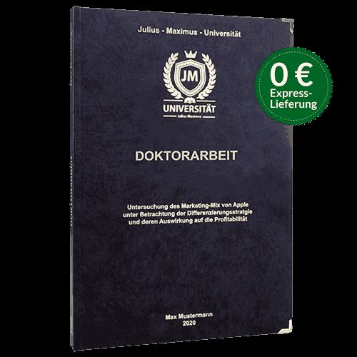 Doktorarbeit-binden-Hardcover
