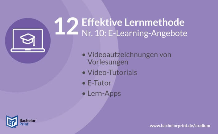 Effektive Lernmethode E-Learning