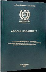 Abschlussarbeit drucken Standard Hardcover