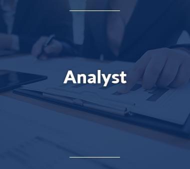 Analyst Berufe mit Zukunft