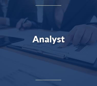 Analyst IT-Berufe