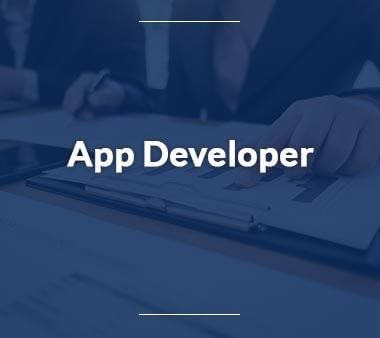 App Developer Technische Berufe