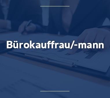 Bürokauffrau Bürokaufmann Ausbildungsberufe