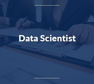 Data Scientist Bürojobs