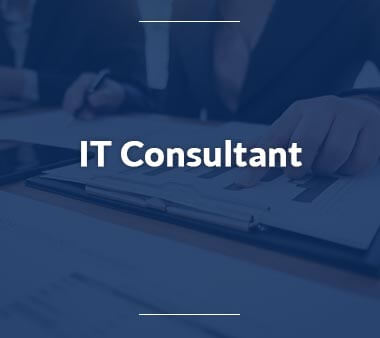 IT Consultant Technische Berufe