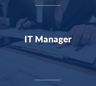 IT Manager IT-Berufe