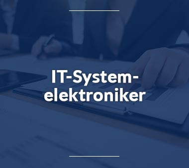 IT-Systemelektroniker Berufe mit Zukunft