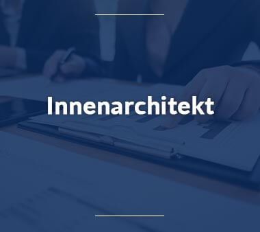 Innenarchitekt Kreative Berufe