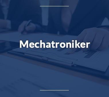 Mechatroniker Ausbildungsberufe