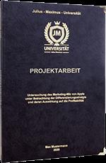 Projektarbeit drucken Premium Hardcover