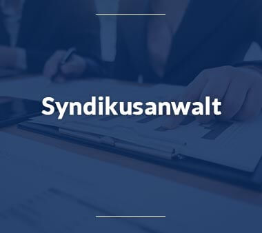 Syndikusanwalt Berufe mit Zukunft