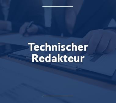 Technischer Redakteur Bürojobs