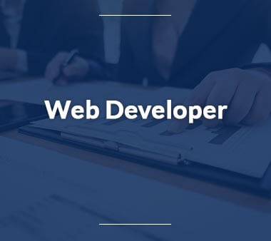 Web Developer Bürojobs