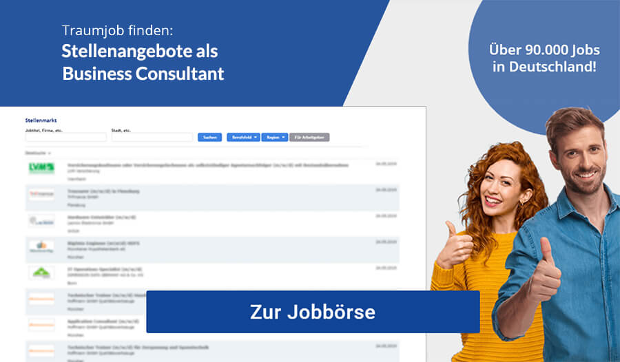Business Consultant Jobs
