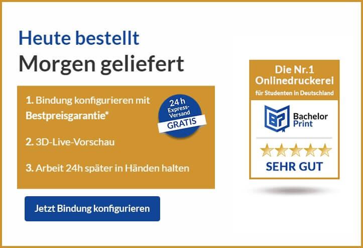 Drucken Binden Chemnitz Bindung konfigurieren