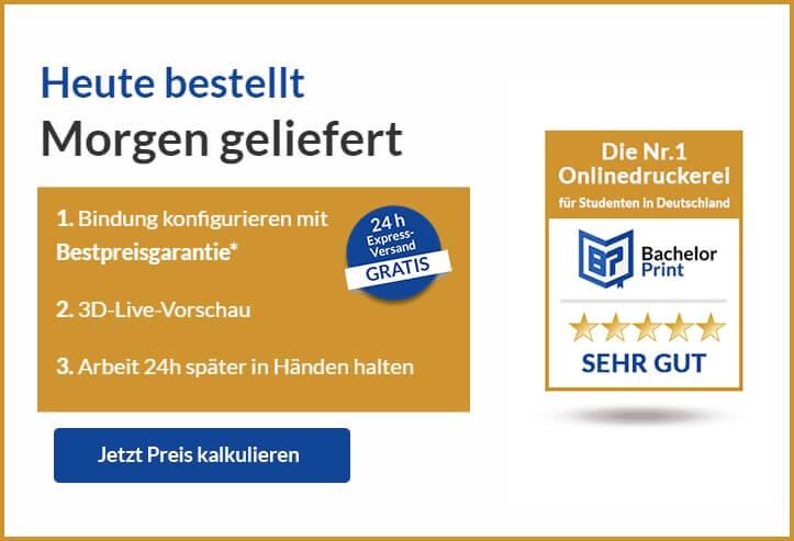 Drucken Binden Ulm Preis kalkulieren
