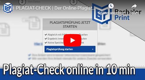 Plagiat-Check Erklärung