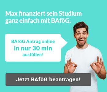 BAföG Student online Antrag stellen