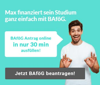 BAföG Zweitstudium online Rechner