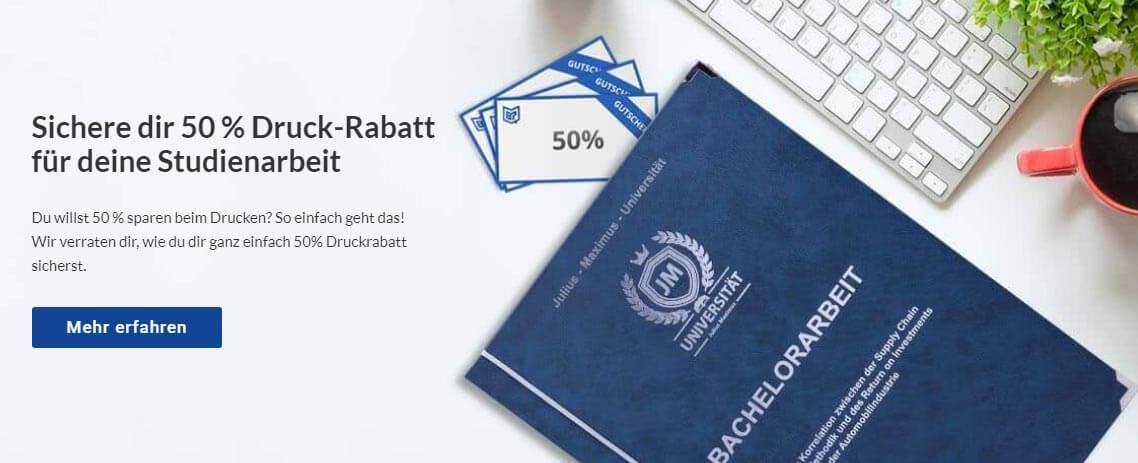 Bielefeld drucken binden online sparen