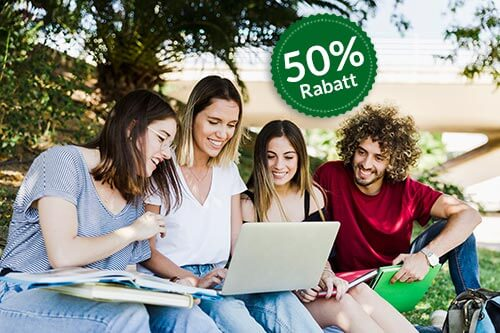 Empfehlung an Freunde 50 Prozent