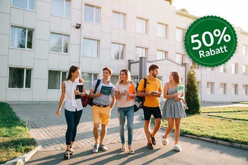Empfehlung an Hochschulen 50 Prozent