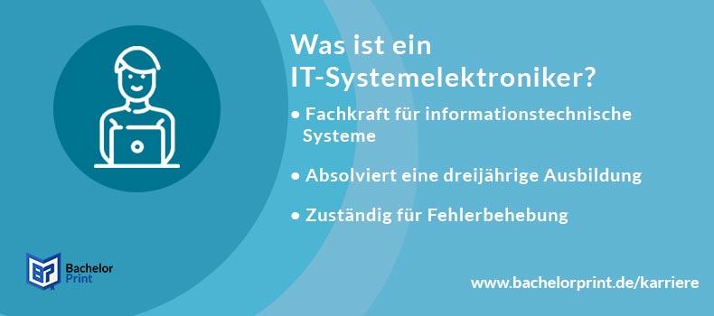 IT-Systemelektroniker Definition