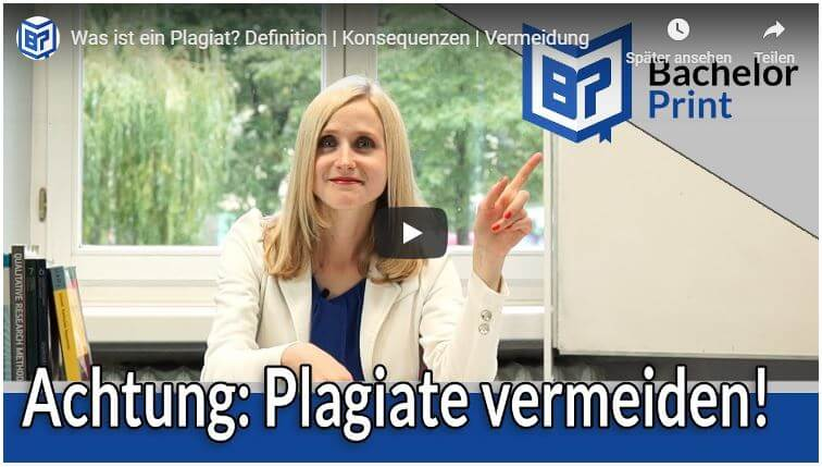 Was ist ein Plagiat Video Tutorial