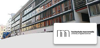Hochschule Macromedia Übersicht
