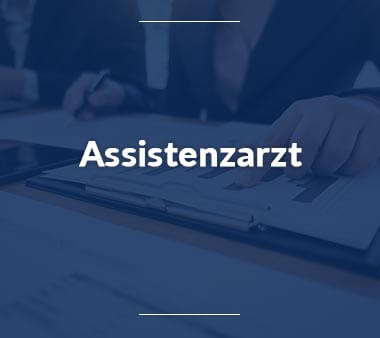 Assistenzarzt Jobs