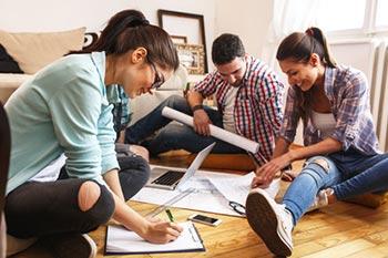Unternehmensplanspiel Gruppenarbeit