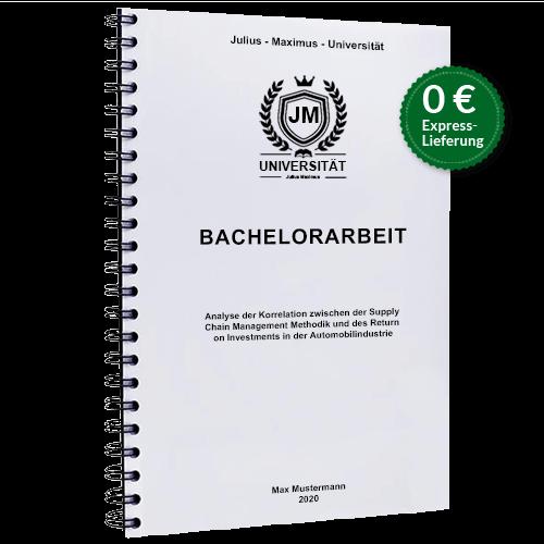 Bachelorarbeit drucken Sprialbindung gratis Versand