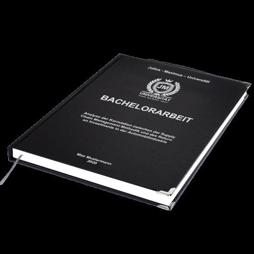 Bachelorarbeit binden lassen Hardcover
